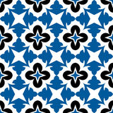 花卉几何模式 免版税库存照片