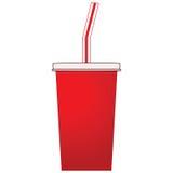 杯子碳酸钠 免版税库存照片