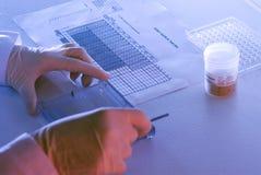 εργαστήριο γονιδίων Στοκ Εικόνες