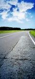участвовать в гонке трасса Стоковые Изображения