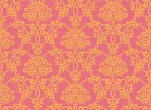 玫瑰色墙纸 免版税库存图片