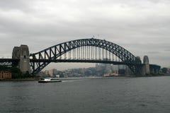 桥梁港口悉尼 库存照片