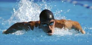 体育运动游泳 免版税图库摄影