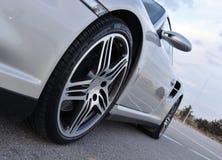 汽车体育运动轮子 库存照片