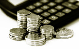 финансовохозяйственные сбережения роста Стоковые Фотографии RF