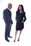 επιχειρηματίες αφροαμερικάνων Στοκ Εικόνα