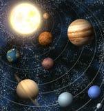 ηλιακό σύστημα Στοκ φωτογραφία με δικαίωμα ελεύθερης χρήσης