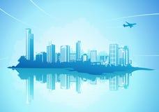 都市背景 免版税库存图片