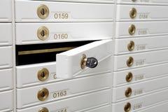 配件箱安全性 库存照片