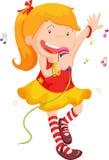 петь Стоковое Изображение