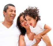 красивейшая семья Стоковое Фото