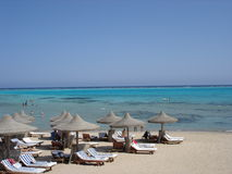 красное море песка Стоковое Изображение