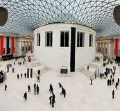 великобританский музей Стоковое Изображение RF
