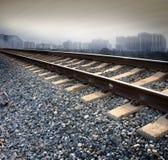 следы железной дороги Стоковая Фотография RF