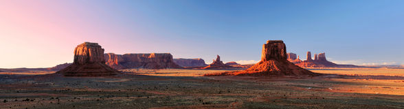 долина пункта панорамы памятника художника Стоковое Изображение RF
