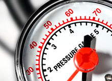κλίμακα πίεσης Στοκ Εικόνες