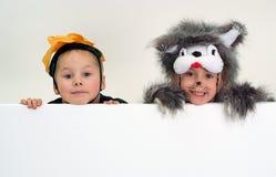 смешные малыши Стоковые Фотографии RF