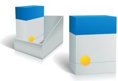配件箱配件箱设计开放产品软件二 免版税库存图片