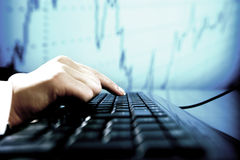 数据信息 免版税图库摄影