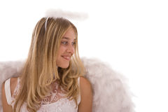 美好的天使 免版税库存照片