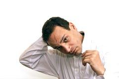 человек волос отладки Стоковые Фотографии RF