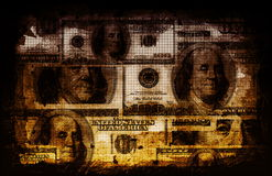 抽象企业财务 免版税库存图片