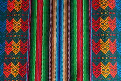 ручной работы перуанская текстура Стоковая Фотография