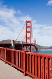 πύλη γεφυρών χρυσή Στοκ εικόνες με δικαίωμα ελεύθερης χρήσης