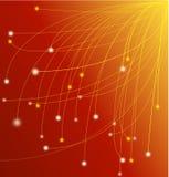 пук шнурует желтый цвет Стоковое Изображение