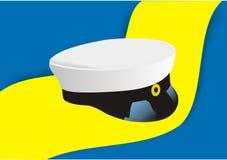 毕业帽子瑞典 免版税库存图片