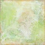 古色古香的背景花卉主题葡萄酒 免版税图库摄影
