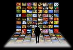 ψηφιακή τηλεόραση Στοκ Φωτογραφία
