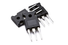транзисторы Стоковые Фото