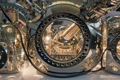 科学仪器的精确度 库存照片