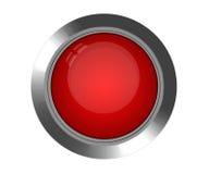 κόκκινο κουμπιών Στοκ φωτογραφίες με δικαίωμα ελεύθερης χρήσης
