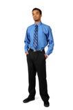 бизнесмен стоя молода Стоковые Изображения RF