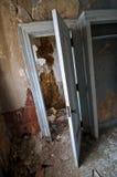 腐朽的壁橱 免版税库存照片