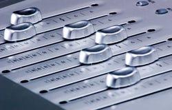 数字式音量控制器搅拌机 图库摄影