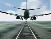 航空旅行 免版税库存照片