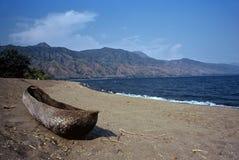 озеро Малави Танзания Стоковое Фото