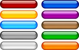 κουμπιά Διαδίκτυο Στοκ Φωτογραφίες