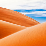 沙漠沙丘 图库摄影