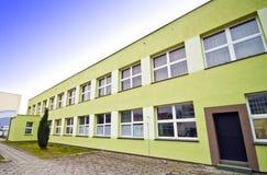 χτίζοντας σχολείο Στοκ Εικόνες