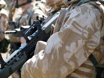 皇家英国的特攻队 免版税库存图片
