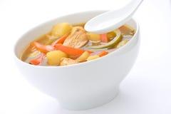 κινεζικά λαχανικά σούπας  Στοκ Εικόνες