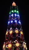 圣诞节有启发性结构树 库存照片