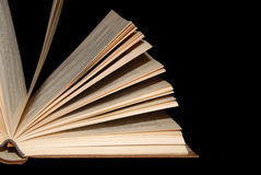 开放的书 免版税库存图片