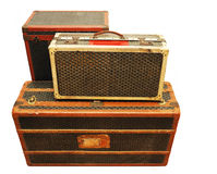 старые чемоданы Стоковое фото RF