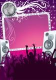 партия диско Стоковая Фотография RF