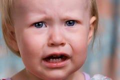 恼怒的小孩 免版税库存图片
